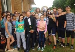 Коллектив DFM-Нижнекамск побывал на праздновании 20-летия НТР