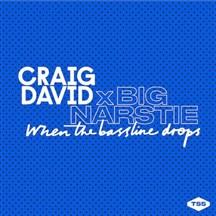 CRAIG DAVID / BIG NARSTIE - WHEN THE BASSLINE DROPS