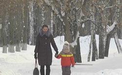 В Нижнекамске более 1,2 тыс школьников из-за мороза решили не ходить на занятия