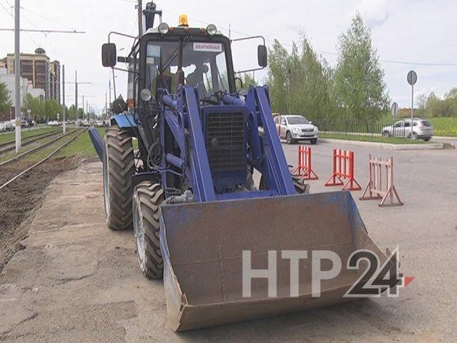В Нижнекамске закрылось движение на перекрестке пр.Химиков-ул.Менделеева