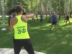 Жители Нижнекамска приняли участие в водной битве проекта «Зеленый фитнес»