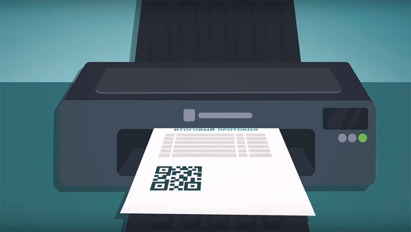 Выборы-2018. Передача результатов голосования с избирательного участка при помощи QR-кода