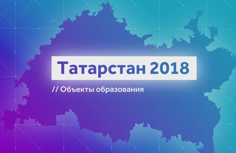 Татарстан-2018. Объекты образования